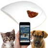 Устройство выдачи корма с Wi-Fi камерой Feed and Go Smart Pet Feeder для iOS/Android белая
