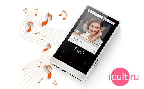Fiio M3 8GB Ivory white