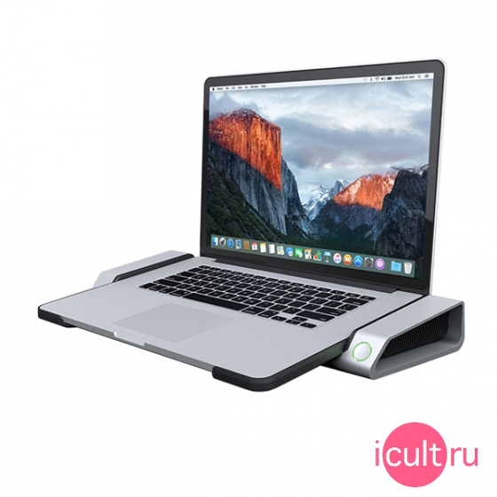 "Смарт подставка Henge Docks Horizontal Dock 6USB 3.0 для MacBook Pro 15"" Retina серебристая HD02HA15MBPR"