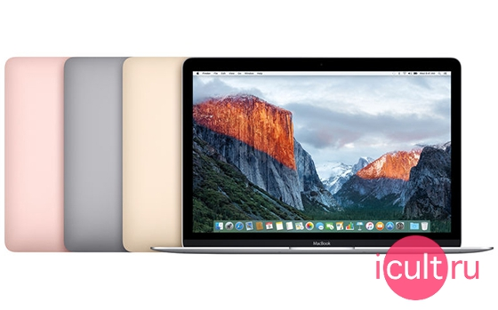 MacBook 12 OS X El Capitan
