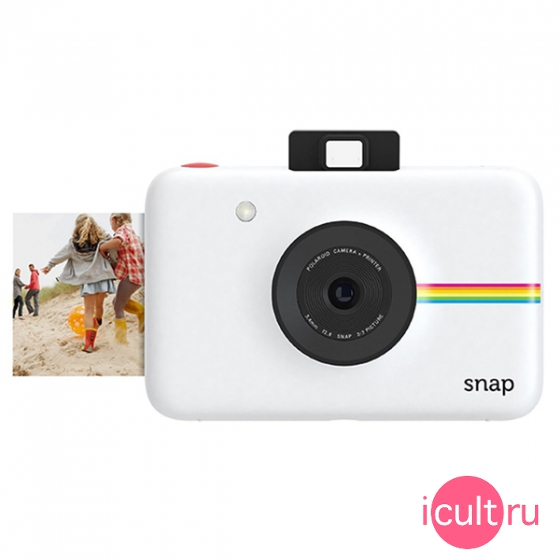 Фотокамера Polaroid Snap 10MP Instant Digital Camera White белая