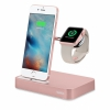 Док-станция Belkin Valet Charge Dock для iPhone/Apple Watch розовое золото F8J183ttC00-APL