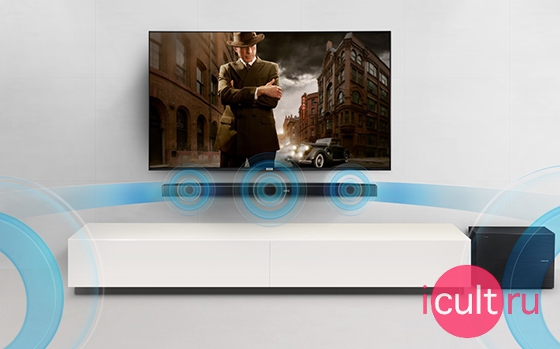Samsung Wireless Soundbar with Wireless Subwoofer