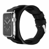 Кожаный ремешок Cozistyle Leather Wrist Cuff Black для Apple Watch 42/44 mm черный CWLB10
