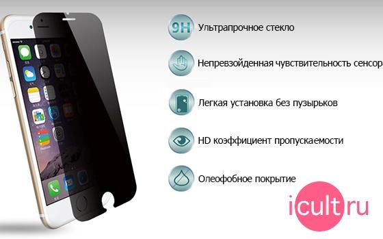 Стекло Anti-Spy Glass iPhone 5