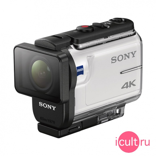 Экшн камера Sony Action Camera 4K Wi-Fi/GPS White белая FDR-X3000