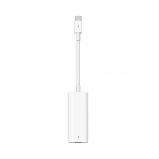 Переходник Apple Thunderbolt 3 (USB-C)/Thunderbolt 2 White белый MMEL2