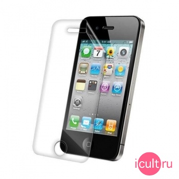 Защитная пленка ZAGG Invisible Shield Front Coverage для iPhone 4 / iPhone 4S APLIPHONE4GSS 4340406018