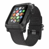 Чехол с ремешком Lunatik Epic Polycarbonate Black/Black Canvas Strap для Apple Watch 42 мм черный/черный EPIK-006