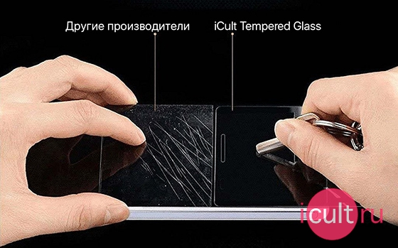 iCult Tempered Glass Motorola Moto Z