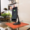 Беспроводная док-станция Mophie Charge Force Desk Mount Black для чехлов Mophie Juice Pack черная 3454
