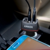 АЗУ Anker PowerDrive+ 3 36W 2.4A/3USB Black черное A2231011