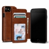 Чехол-книжка Sena Wallet Book Cognac для iPhone 7/8 коричневый SFD27806ALUS
