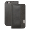Чехол-книжка Moshi Overture Case Steel Black для iPhone 6/6S Plus черный 99MO052004