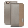 Чехол-книжка Moshi Overture Case Brushed Titanium для iPhone 6/6S Plus титановый 99MO052242