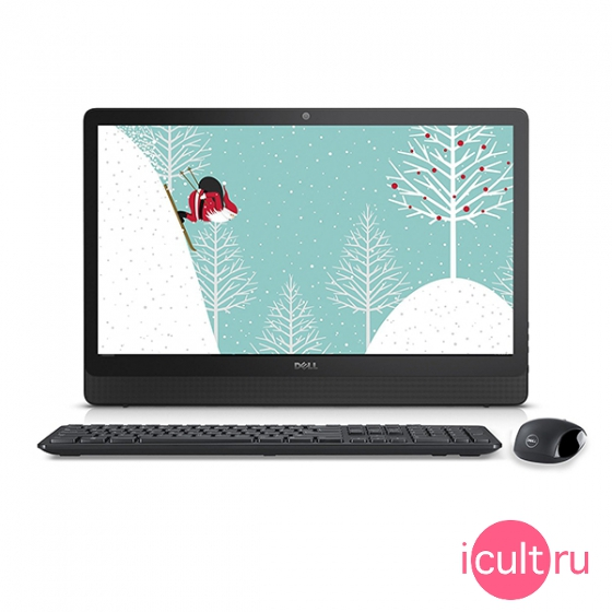 "Компьютер Dell Inspiron 3459 23,8"" Core i3, 4ГБ RAM, 1ТБ HDD, Intel HD Graphics 520, DVD, Win 10 Home черный 3459-1707"