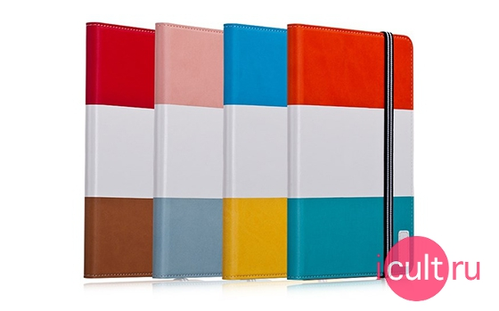 Momax Modern Note Pink/White/Blue iPad mini 1/2/3