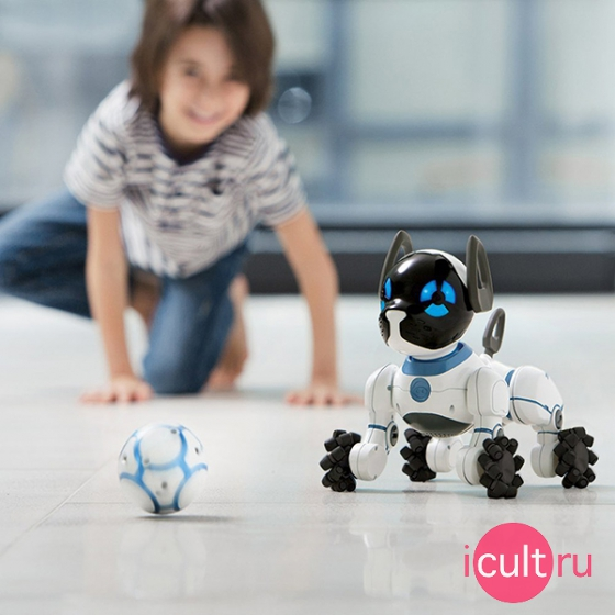 Собака-робот WowWee CHiP White белый 5805