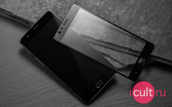 OnePlus Curved Tempered Glass Screen Protector Black