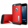 Чехол SGP Slim Armor Electric Red для iPhone 6/6S Plus красный SGP10902