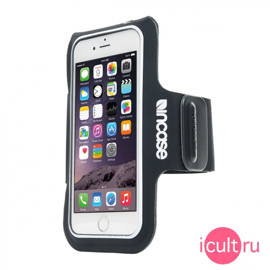 Спортивный чехол на руку Incase Active Armband Black для iPhone 6/6S/7/8 Plus черный INOM180392-BLK