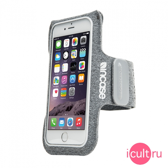 Спортивный чехол на руку Incase Active Armband Heather Gray для iPhone 6/7/8 серый INOM170201-HGY