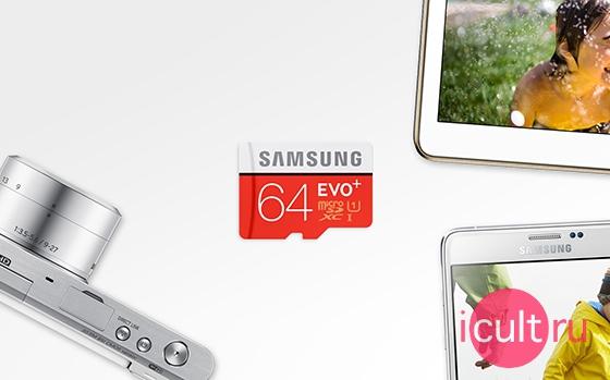 Samsung EVO+ 64GB MicroSDXC