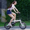 Электровелосипед Xiaomi Mijia QiCycle Folding Electric Bicycle White белый