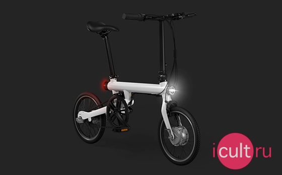 Xiaomi Mi QiCycle Folding Electric Bicycle White