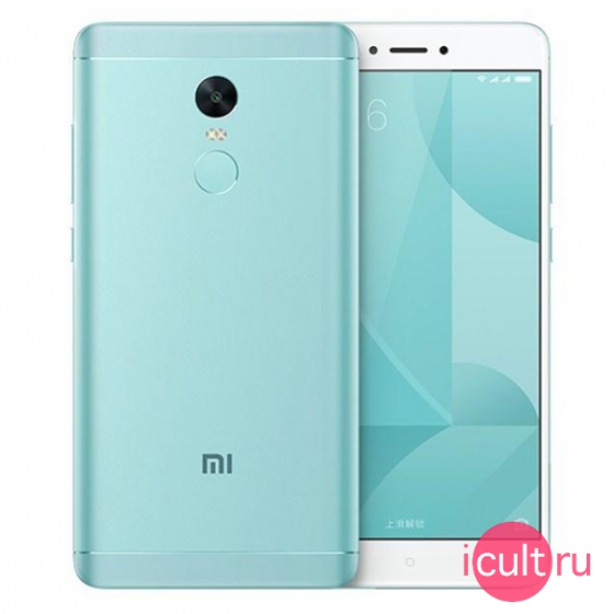 Смартфон Xiaomi Redmi Note 4X 32Gb Blue голубой 4G+