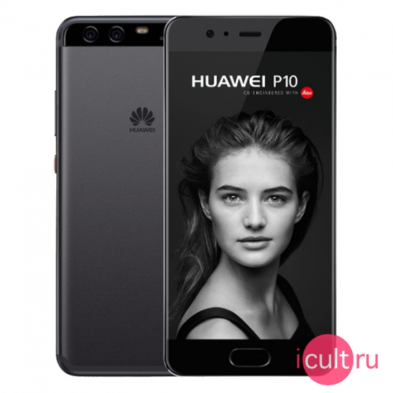 Смартфон Huawei P10 32GB Graphite Black графит LTE VTR-L29