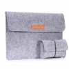 Чехол + мини-сумка Moko Felt Protective Ultrabook Case Light Gray для Microsoft Surface Book/Pro 4 светло-серый 4321415