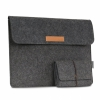 Чехол + мини-сумка Moko Felt Protective Ultrabook Case Dark Gray для Microsoft Surface Book/Pro темно-серый 6470021