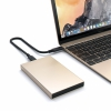 "Aлюминиевый USB-C корпус Satechi Aluminium Enclosure Gold для SSD/HDD 2.5"" золотой ST-TCDEG"