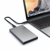 "Aлюминиевый USB-C корпус Satechi Aluminium Enclosure Space Gray для SSD/HDD 2.5"" темно-серый ST-TCDEM"