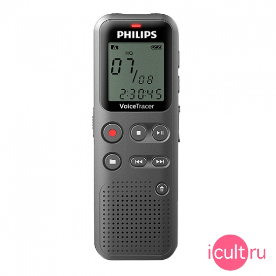 Диктофон Philips Voice Tracer Audio Recorder 4GB Black черный DVT1110
