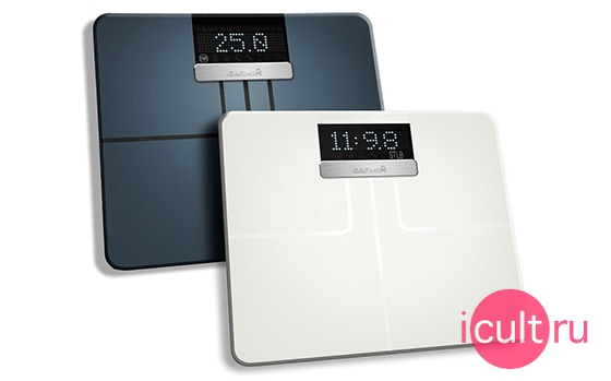 Garmin Index Wi-Fi Smart Scale White