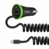 АЗУ Belkin Car Charger 3.4A/1USB/Lightning Black черное F8J154bt04-BLK
