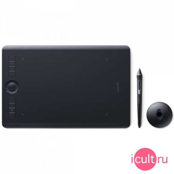 Планшет Wacom Intuos Pro Medium RU Black черный PTH-660