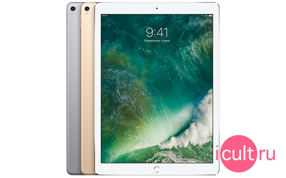 Apple iPad Pro 12.9 2017 512GB Wi-Fi + Cellular (4G) Silver