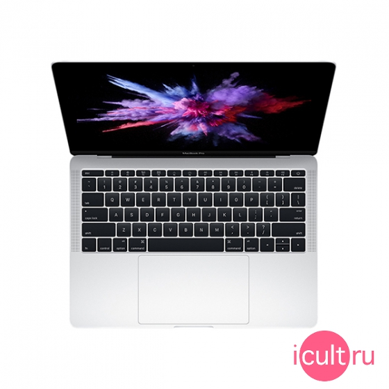 "Ноутбук Apple MacBook Pro 13"" Core i7 2*2,5 ГГц, 16ГБ RAM, 128ГБ Flash Mid 2017 Silver серебристый Z0UJ"