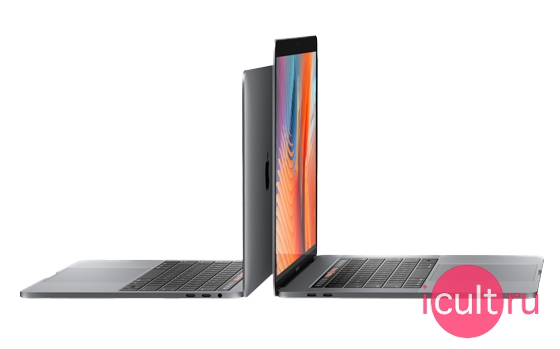 Apple MacBook Pro 15 Core i7 4*2,8 ГГц, 16ГБ RAM, 2ТБ Flash, Radeon Pro 555 2ГБ, Touch Bar Mid 2017 Silver