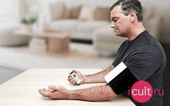 QardioArm Wireless Blood Pressure Monitor Lightning Red