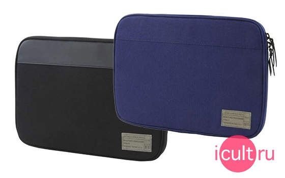 HEX Sleeve with Rear Pocket Blue