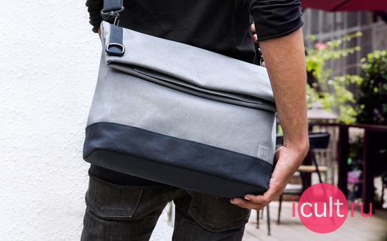 OnePlus Travel Messenger Bag Blue Gray