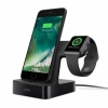Док-станция Belkin PowerHouse Charge Dock для iPhone/Apple Watch черная F8J200vfBLK / F8J237vfBLK