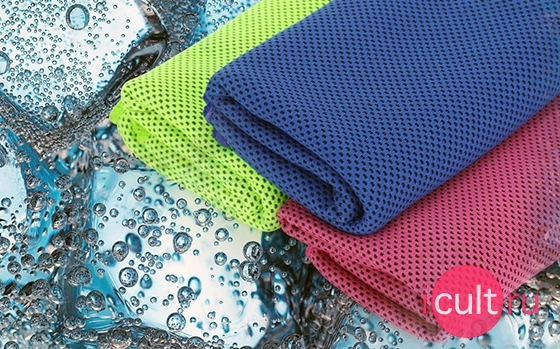 Rock Sports Cooling Towel Blue