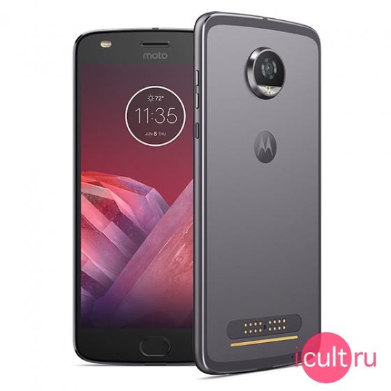 Смартфон Motorola Moto Z2 Play 32GB Lunar Gray серый LTE