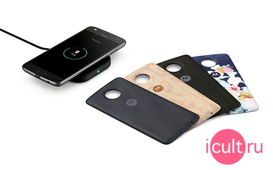 Motorola Moto Style Shell Ebony with Wireless Charging
