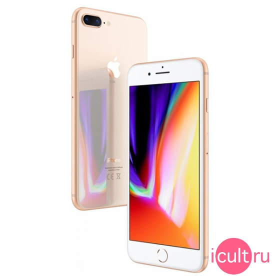 Смартфон Apple iPhone 8 Plus 64GB Gold золотой MQ8N2 A1897